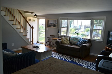 Falmouth Cape Cod vacation rental - TV / Living Room / Breakfast Bar