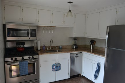 Falmouth Cape Cod vacation rental - Updated Kitchen with Granite, Open to Deck and TV Room