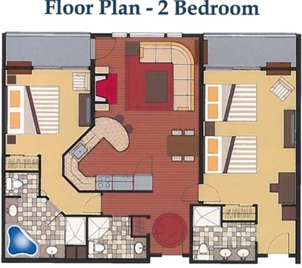 Hyannis Cape Cod vacation rental - Layout