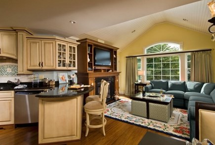 Hyannis Cape Cod vacation rental - Kitchen/ Dining/ Living Room