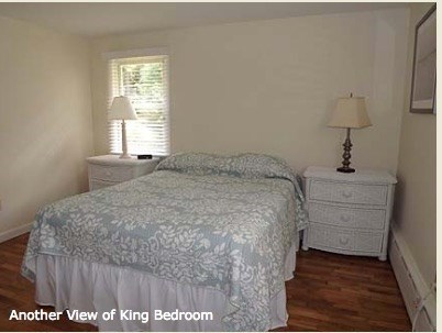 Chatham Cape Cod vacation rental - Master bedroom has a king bed