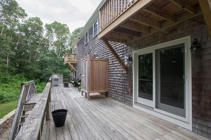 Centerville Centerville vacation rental - Rear deck
