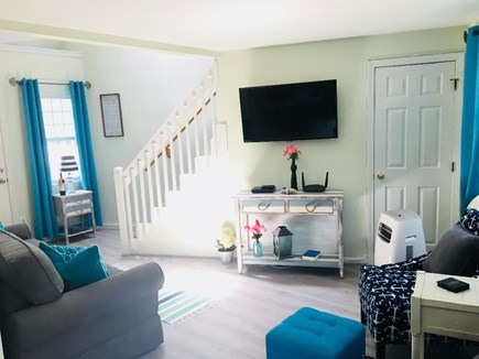 Hyannis Cape Cod vacation rental - Bright and inviting living room - Welcome!