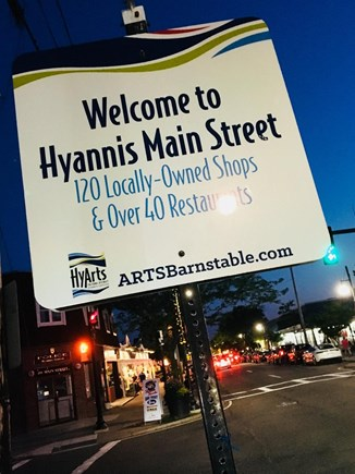 Hyannis Cape Cod vacation rental - Just 1/2 mile to Main St. with tons of restaurants, shops and fun
