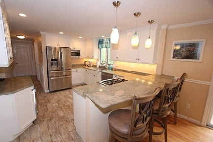 North Falmouth Cape Cod vacation rental - Granite Kitchen w/ Counter Seating