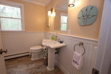 North Falmouth Cape Cod vacation rental - First Floor Half Bath w/ Laundry