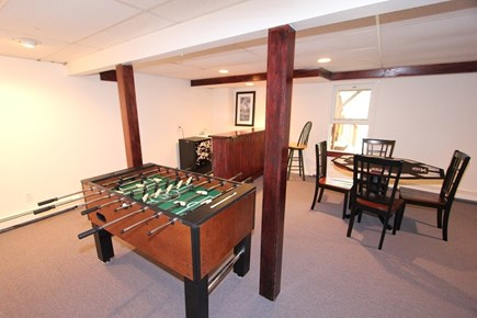 North Falmouth Cape Cod vacation rental - Basement w/ Foosball Table