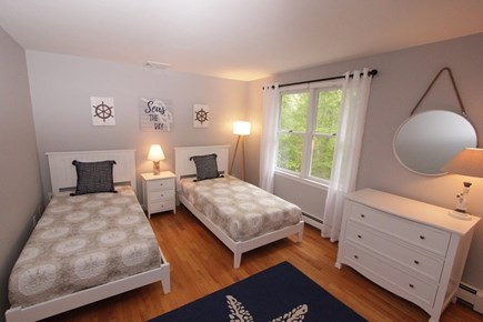 North Falmouth Cape Cod vacation rental - Bedroom 2 w/ 2 Twins