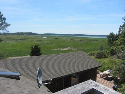 Wellfleet Cape Cod vacation rental - Upper deck views