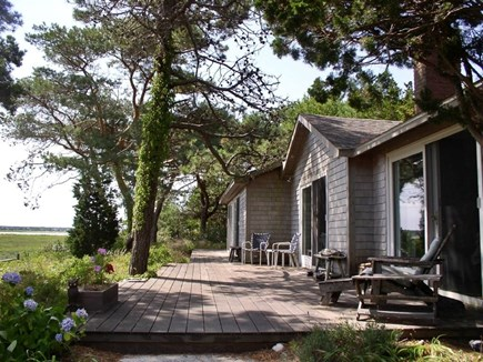 Wellfleet Cape Cod vacation rental - Welcome to the Marsh house, relax and enjoy the views