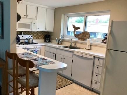 Mashpee Cape Cod vacation rental - Bright White Kitchen
