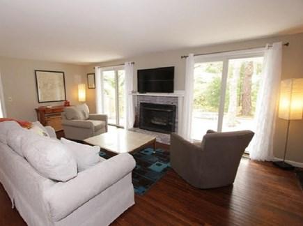 Mashpee Cape Cod vacation rental - Comfortable Living Area w/ TV