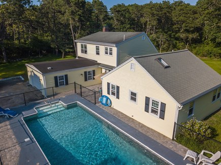 Dennisport Cape Cod vacation rental - Inground pool for after beach dip and relaxation.