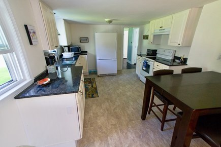 Dennisport Cape Cod vacation rental - Kitchen with new granite counters.
