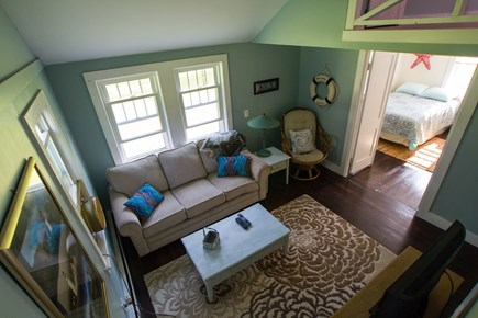 Dennisport Cape Cod vacation rental - 2nd family room with tv.