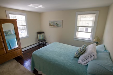 Dennisport Cape Cod vacation rental - 2nd full size bed on main floor.