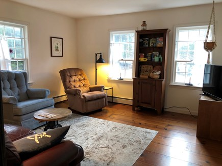 "Eastham-Boat Meadow Beach area Cape Cod vacation rental - Main floor family/game room with large 40"" flat screen cable TV"