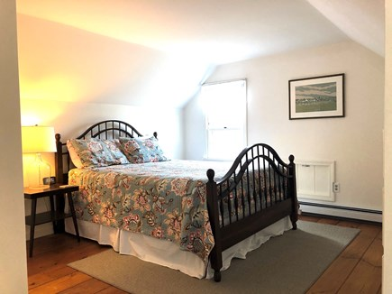 Eastham-Boat Meadow Beach area Cape Cod vacation rental - Upstairs Queen bedroom with seating area.