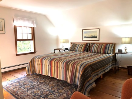 Eastham-Boat Meadow Beach area Cape Cod vacation rental - Upstairs King bed with new Tempurpedic topper.