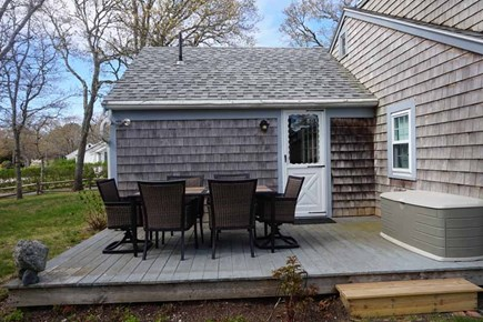 West Yarmouth Cape Cod vacation rental - Back Padio
