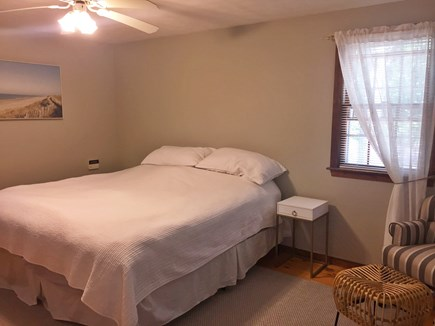 East Dennis Cape Cod vacation rental - Master bedroom with king bed, large closet, and bathroom attached