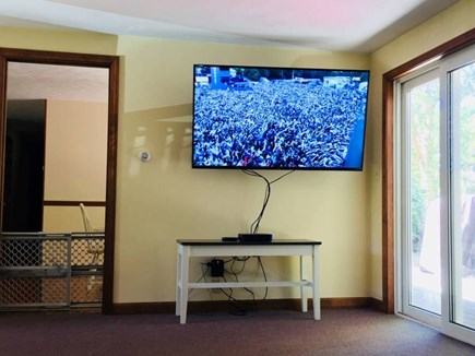 East Dennis Cape Cod vacation rental - Big screen TV for your enjoyment