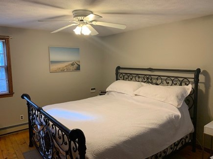 East Dennis Cape Cod vacation rental - Master Bedroom w/King bed and sitting area