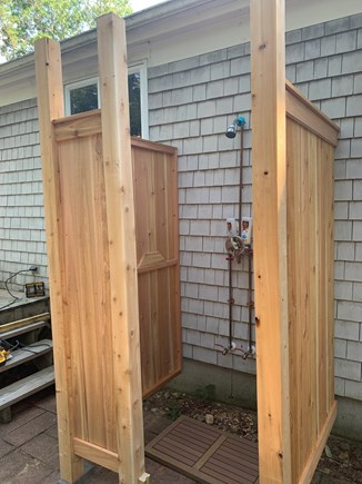 East Dennis Cape Cod vacation rental - outdoor shower