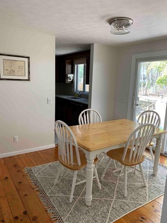 East Dennis Cape Cod vacation rental - Dining room table