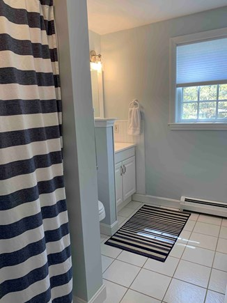 East Dennis Cape Cod vacation rental - Bathroom off family room