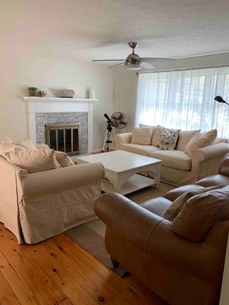 East Dennis Cape Cod vacation rental - Living room w 3 couches