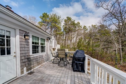 East Falmouth Cape Cod vacation rental - Grill on the deck