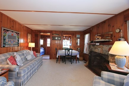 East Sandwich Cape Cod vacation rental - Living Room (fireplace not usable )