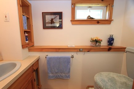 East Sandwich Cape Cod vacation rental - Lower Level Bath w/ Just Toilet