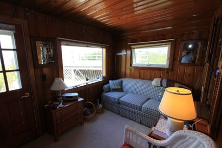 East Sandwich Cape Cod vacation rental - Sleeping Porch w/ Twin Bed