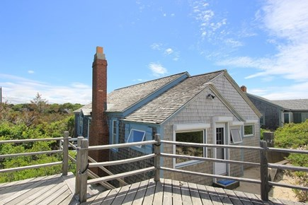 East Sandwich Cape Cod vacation rental - House from the Deck