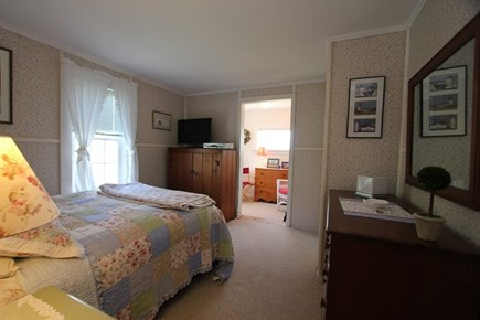 East Sandwich Cape Cod vacation rental - Bedroom 1 w/ Queen Bed and Reading Nook