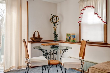 Harwich Cape Cod vacation rental - Intimiate breakfast nook