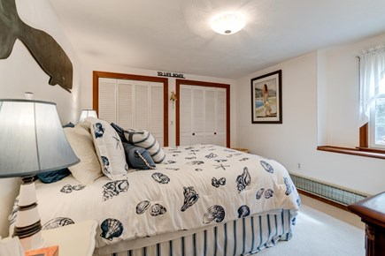 Harwich Cape Cod vacation rental - Nautical Themed master bedroom