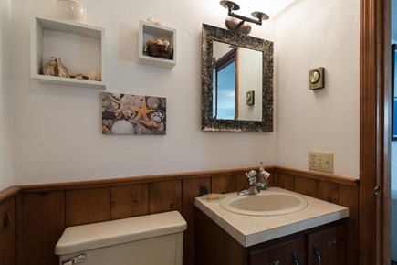 Harwich Cape Cod vacation rental - Decorated second bathroom