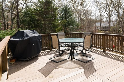 Harwich Cape Cod vacation rental - Large deck for outside time