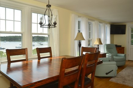 North Chatham Cape Cod vacation rental - Open floor plan with the connecting living and dining area