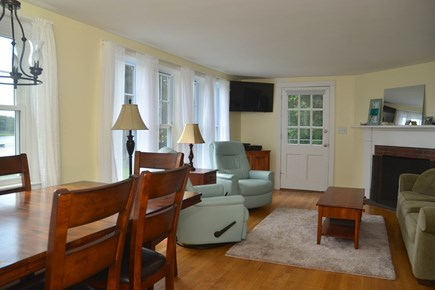 North Chatham Cape Cod vacation rental - Space for everyone in the living room