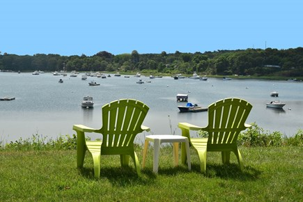 North Chatham Cape Cod vacation rental - Bask in the sun with a view of the Bay