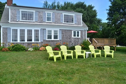 North Chatham Cape Cod vacation rental - Expansive back lawn