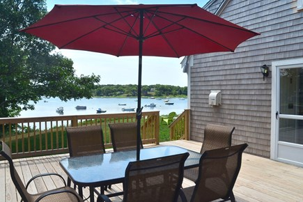 North Chatham Cape Cod vacation rental - Lunch with a bay view