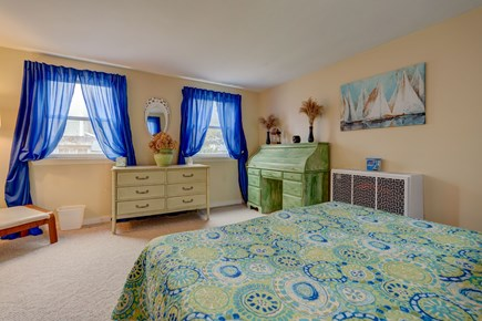 East Falmouth Cape Cod vacation rental - Well lit bedroom