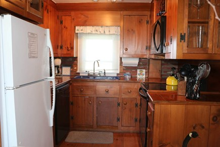 Hyannis Cape Cod vacation rental - The galley kitchen is well equipped for discerning chefs...