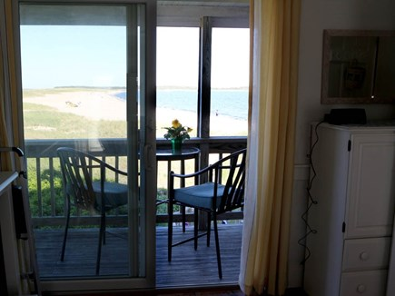 Hyannis Cape Cod vacation rental - A George Foreman electric grill complements bistro table &chairs