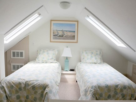 Hyannis Cape Cod vacation rental - The upstairs loft offers comfortable twin beds and...
